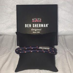 NIB Ben Sherman MensMagnetic Wrap Around Bracelet